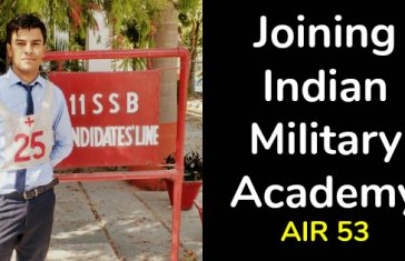 Joining Indian Military Academy AIR 53