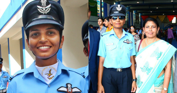Flying Officer Meghana Shanbough Indian Air Force