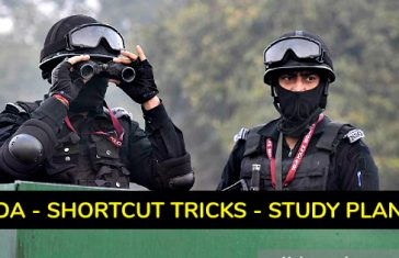 NDA - SHORTCUT TRICKS - STUDY PLAN