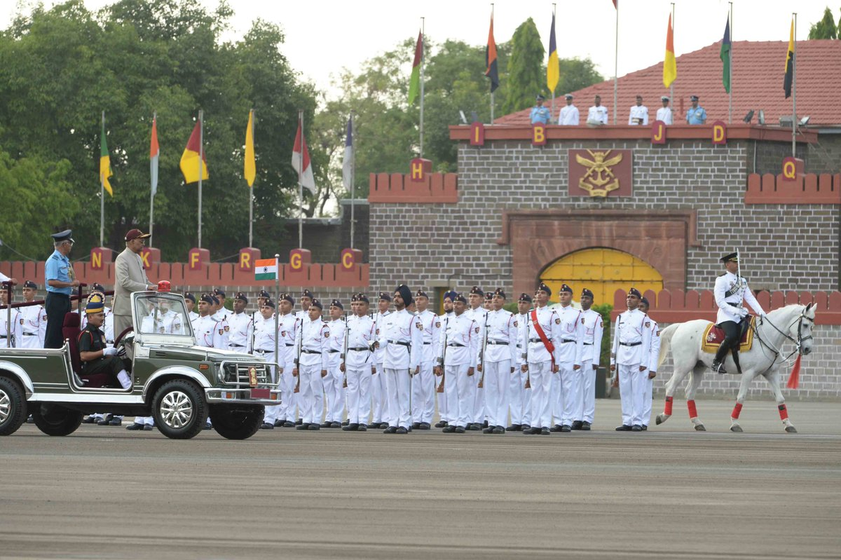 President Reviewing the parade