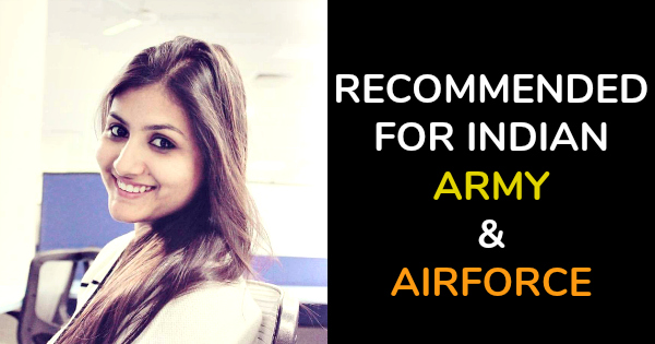 RECOMMENDED FOR INDIAN ARMY & AIRFORCE