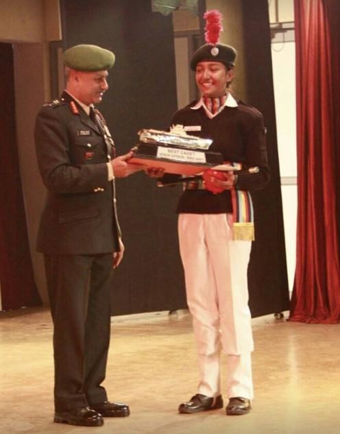 Receiving AIBC Award