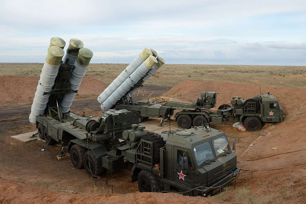 S-400 Triumf Stationed at an Undisclosed location