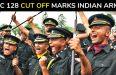 TGC 128 Cut Off Marks Indian Army