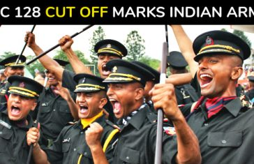 TGC 128 Cut Off Marks Indian Army