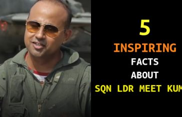 5 INSPIRING FACTS ABOUT SQN LDR MEET KUMAR
