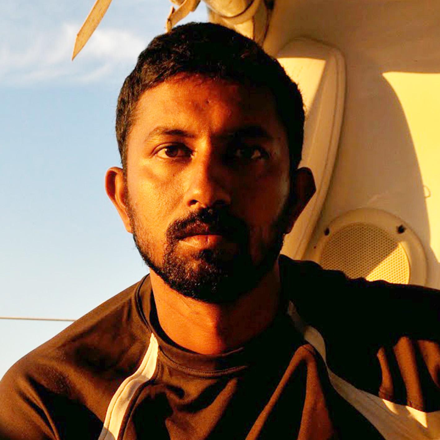 Cdr Abhilash Tomy of Indian Navy
