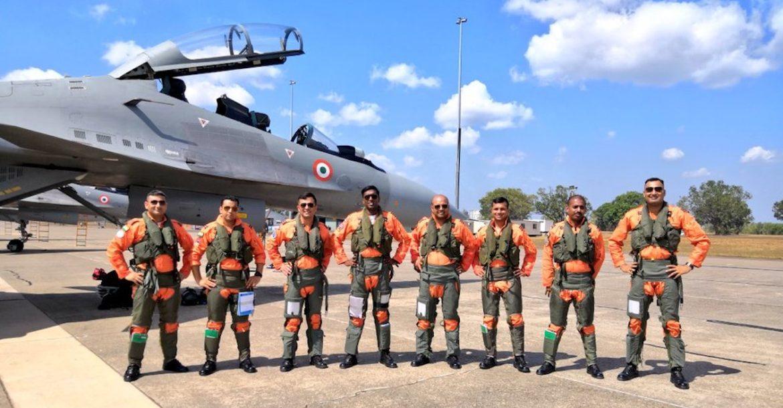 IAF Su-30 Pilots in Ex-Pitch Black 2018