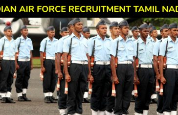 Indian Air Force Recruitment Rally Group 'Y' Tamil Nadu 2018