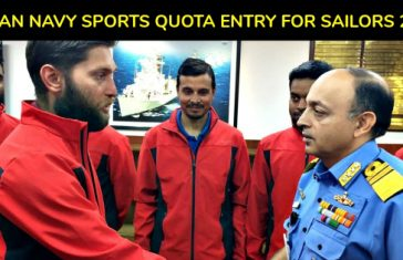 INDIAN NAVY SPORTS QUOTA ENTRY FOR SAILORS 2018