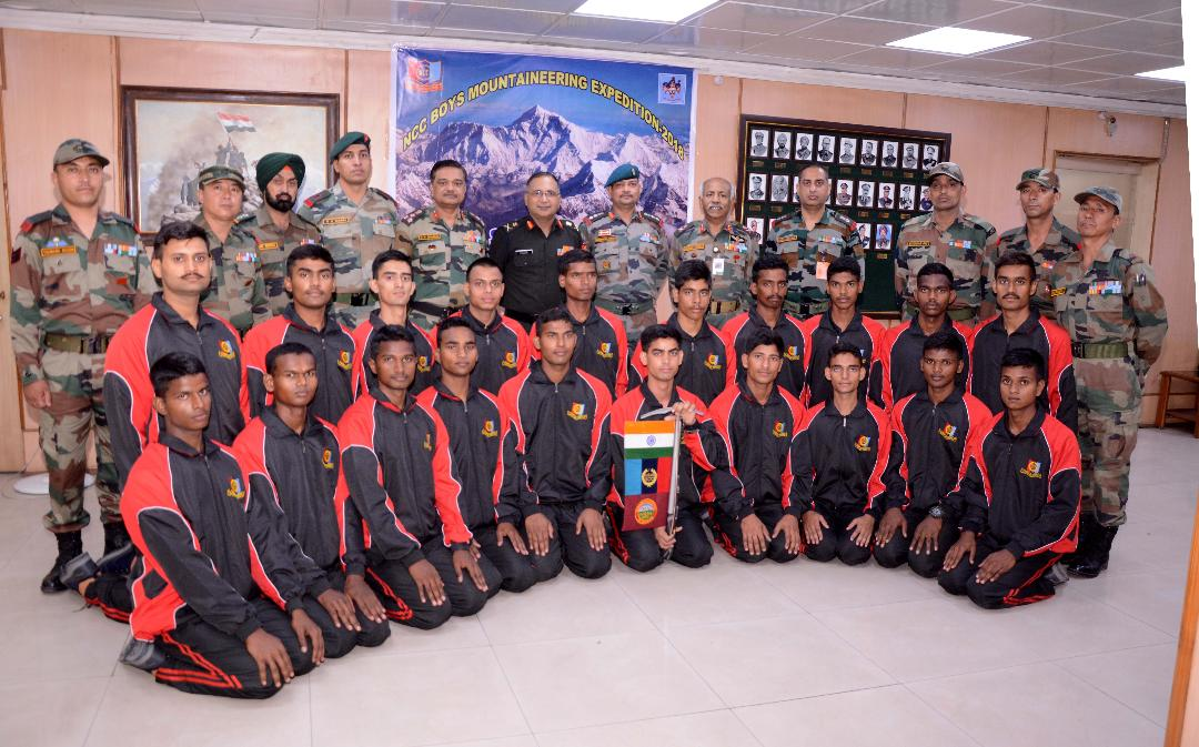 NCC Boys Expn to Mt Saifee