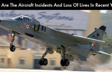 What Are The Aircraft Incidents And Loss Of Lives In Recent Years?