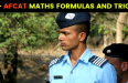 50+ AFCAT MATHS FORMULAS AND TRICKS