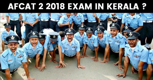 AFCAT 2 2018 EXAM IN KERALA