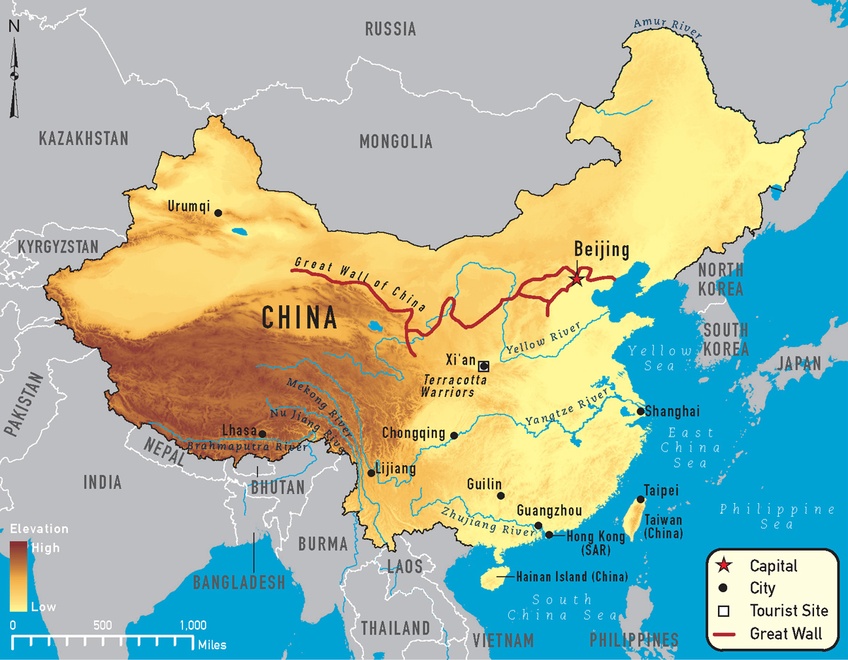 China and neighbouring countries