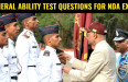 500+ General Ability Test Questions For NDA 2 2018