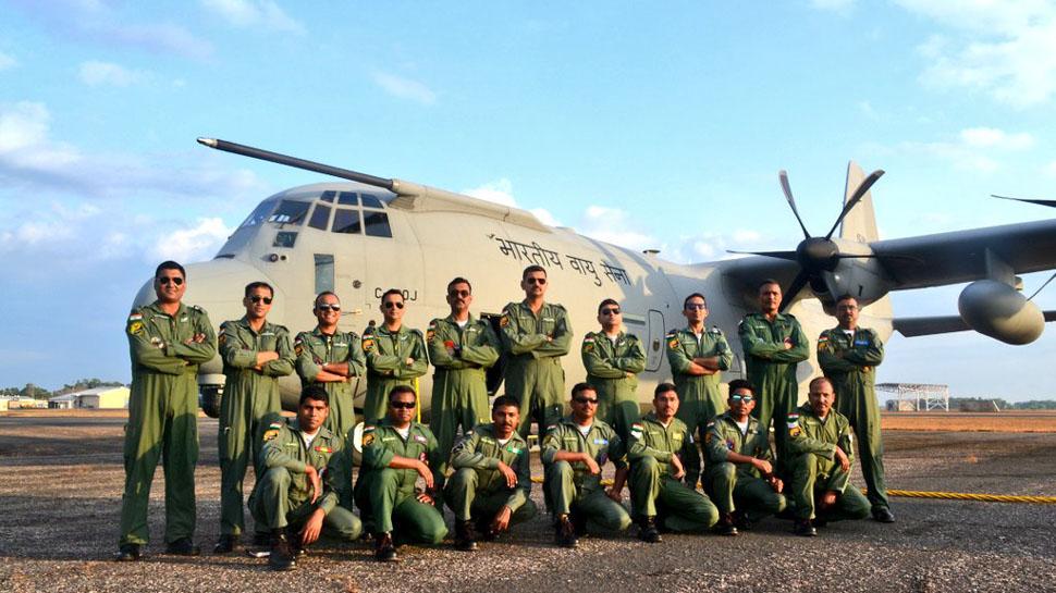 IAF C-130J During 'Pitch Black-2018'