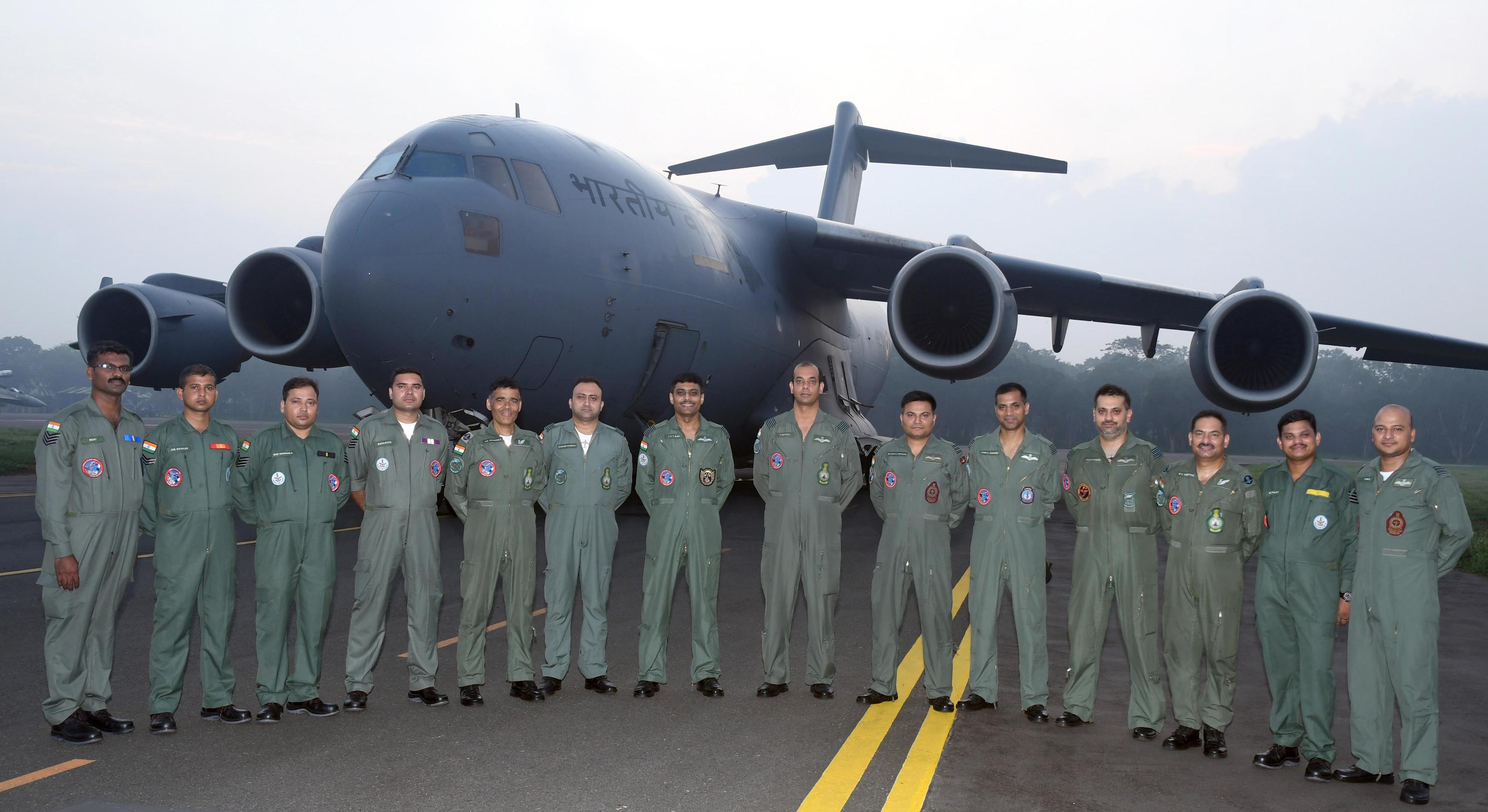 IAF C-17 Aircraft During 'Pitch Black-2018'