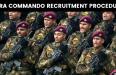 PARA COMMANDO RECRUITMENT PROCEDURE