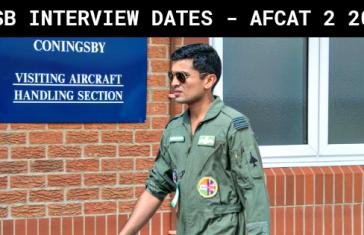 AFSB INTERVIEW DATES - AFCAT 2 2018