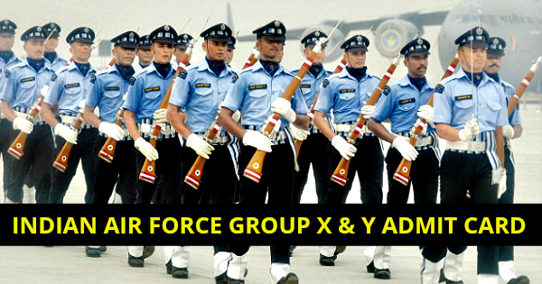Indian Air Force Admit Card   - Download Indian Air ...