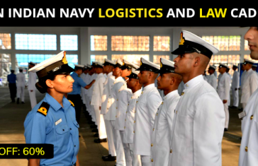 JOIN INDIAN NAVY LOGISTICS AND LAW CADRES
