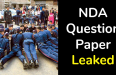 NDA Question Paper Leaked