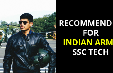 RECOMMENDED FOR INDIAN ARMY SSC TECH
