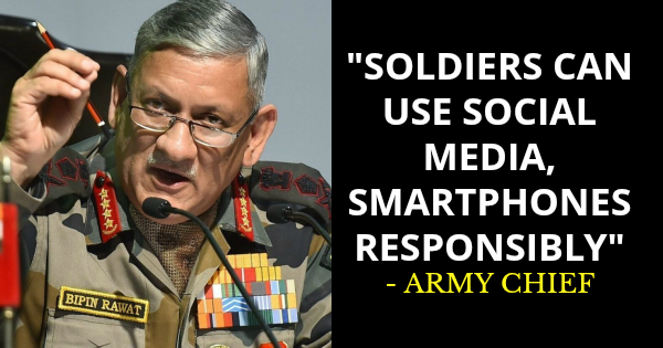 SOLDIERS CAN USE SOCIAL MEDIA, SMARTPHONES RESPONSIBLY