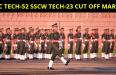 SSC Tech-52 SSCW Tech-23 Cut Off Marks