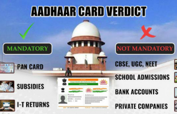 11 Points You Must Know About Supreme Court Aadhaar Verdict