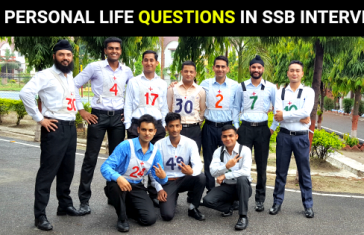 50+ Personal Life Questions Asked In SSB Interview
