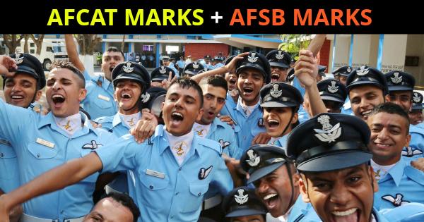 AFCAT MARKS + AFSB MARKS