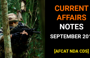 Current Affairs September 2018 PDF