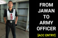 FROM ARMY JAWAN TO ARMY OFFICER