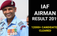 IAF AIRMAN RESULT 2019