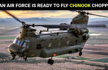 INDIAN AIR FORCE IS READY TO FLY CHINOOK CHOPPERS