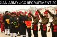 INDIAN ARMY JCO RECRUITMENT 2018