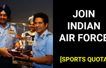 JOIN INDIAN AIR FORCE [SPORTS QUOTA]