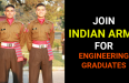JOIN INDIAN ARMY FOR ENGINEERING GRADUATES