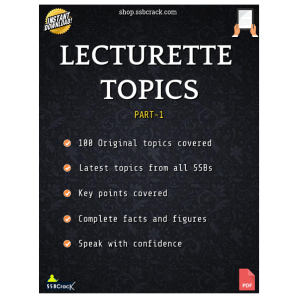 Lecturette Topics eBook - SSBCrack