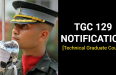TGC 129 NOTIFICATION