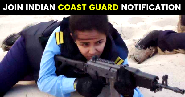 JOIN INDIAN COAST GUARD NOTIFICATION