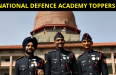 NATIONAL DEFENCE ACADEMY TOPPERS