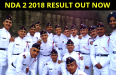 NDA 2 2018 RESULT OUT NOW