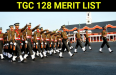 TGC 128 MERIT LIST
