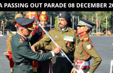 IMA Passing Out Parade 08 December 2018: IMA POP