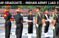 JAG Entry Scheme (JAG 23) – Indian Army Lawyer Recruitment 2019