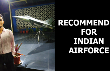 RECOMMENDED FOR INDIAN AIRFORCE