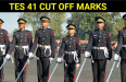 TES 41 CUT OFF MARKS